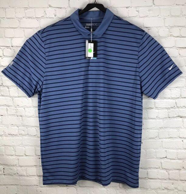 66040d99 Nike Golf Dri-fit Standard Fit Polo Shirt Size 2xl Men Blue for sale ...