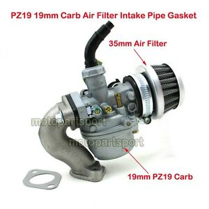 Pz19 Carb 19mm Carburetor With Air Fiter For 50cc 70cc 90cc 110cc Atv Quad Cable Choke Fine Craftsmanship Atv Parts & Accessories