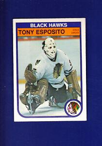 Tony-Esposito-HOF-1982-83-O-PEE-CHEE-OPC-Hockey-64-EXMT-Chicago-Blackhawks