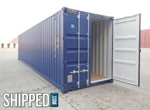 40 Shipping Containers For Sale Ebay >> Details About Valdosta Ga 40 High Cube Shipping Container Buy Today And Save