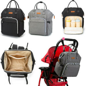 Baby-Diaper-Nappy-Mummy-Changing-Bag-Backpack-Set-Multi-Function-Hospital-Bag