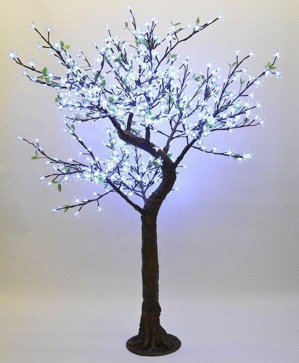 LED Nature Prime Ahornbaum, gelb, Kabel innen, 180cm x 180cm, brauner Stamm