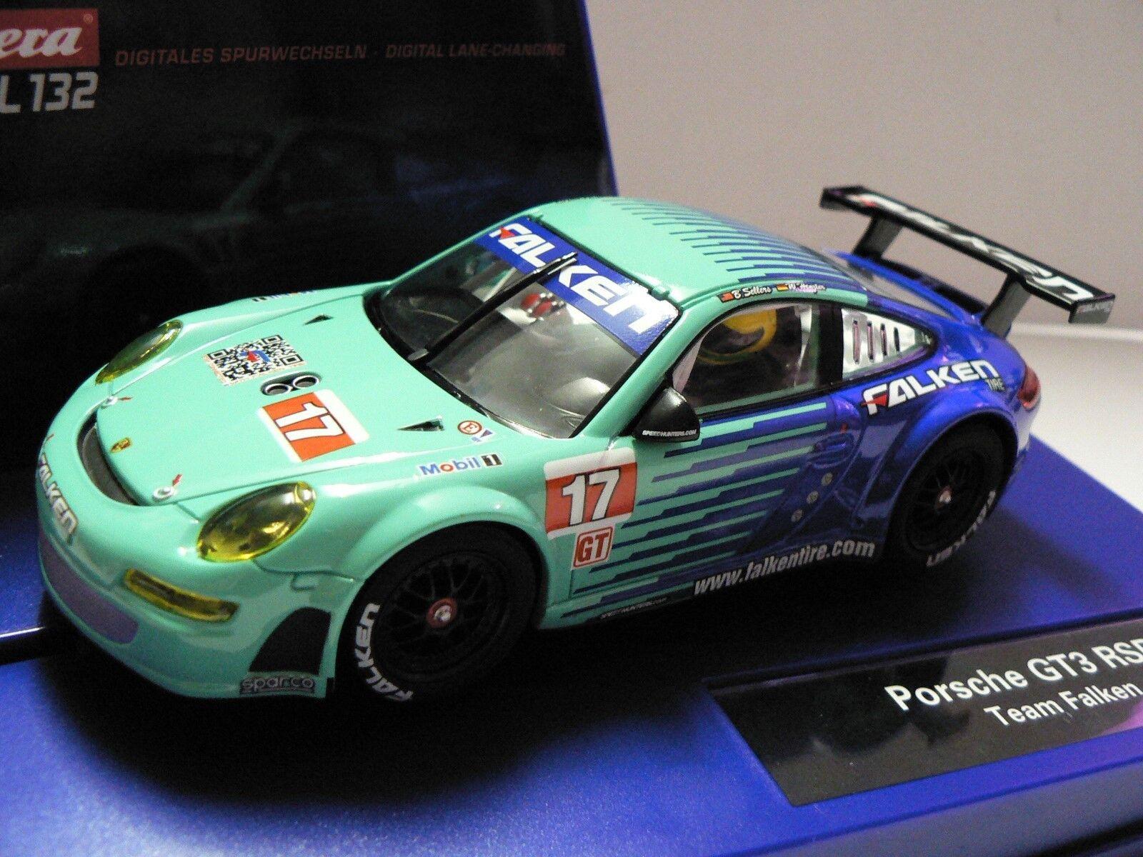 Carrera Digital 132 30642 Porsche GT3 Rsr Team Falken New