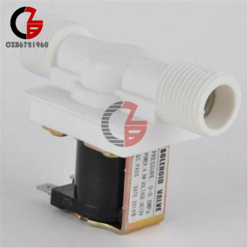 """1//2/"""" 12//24//220V N//C Magnetic Electric Solenoid Valve Water Air Inlet Flow Switch"""
