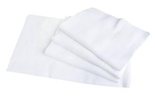 100/% Natural Cotton White LARGE XXL Baby Muslin Squares set of 1pcs,5 pcs,10 pcs
