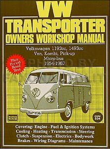 vw van bus shop manual 1966 1965 1964 1963 1962 1961 1960 1959 1958 image is loading vw van bus shop manual 1966 1965 1964