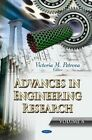 Advances in Engineering Research: Volume 8 by Nova Science Publishers Inc (Hardback, 2014)