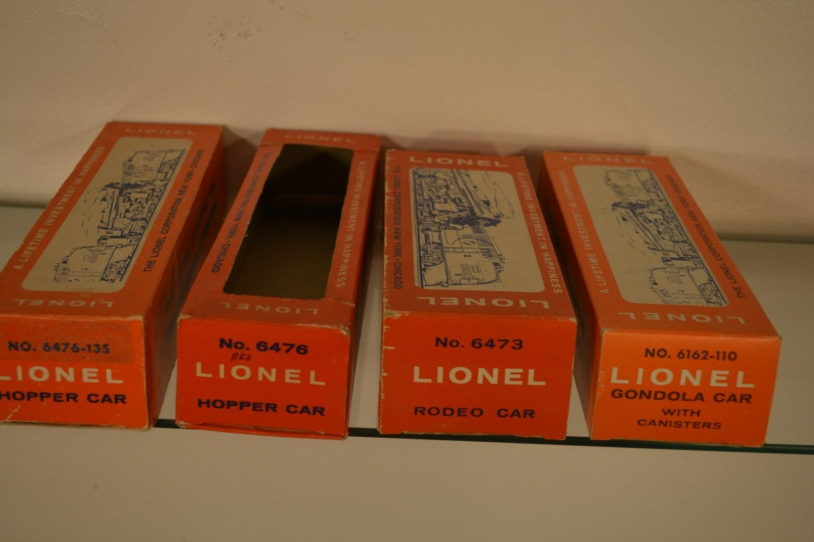 Original Vintage Postwar Lionel Train Empty Boxes for cheap 1960s 6000 series