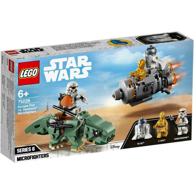 LEGO Star Wars Microfighter - 75228 - Escape Pod Vs Dewback - Neuf