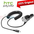 OEM Original HTC Premium Car Charger miniUSB for HTC Hero imagio Tilt Touch Pro2