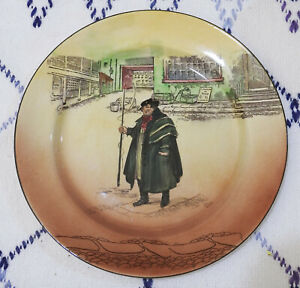 Royal-Doulton-Tony-Weller-Dickens-Ware-10-034-Plate-D5175-Nice
