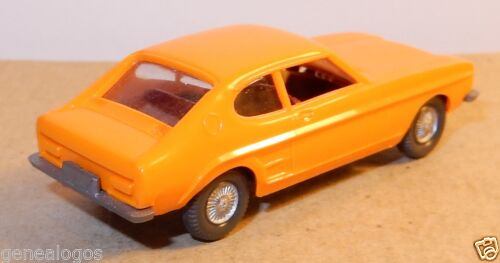 MICRO WIKING HO 1//87 FORD CAPRI ORANGE b