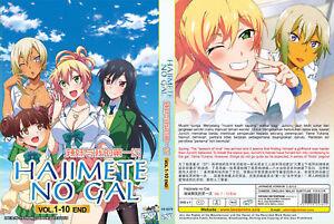 ANIME-DVD-Hajimete-No-Gal-1-10End-English-subtitle-amp-All-region-FREE-SHIPPING-SKU3