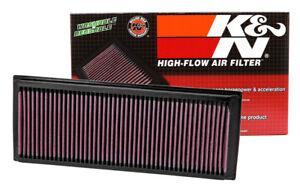 33-2865-K-amp-n-Performance-Filtro-de-aire-se-ajusta-Volkswagen-Audi-Skoda