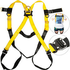 Safety Harness 1d Ring Fall Protection Full Body Construction Ansi Osha Ul Vevor