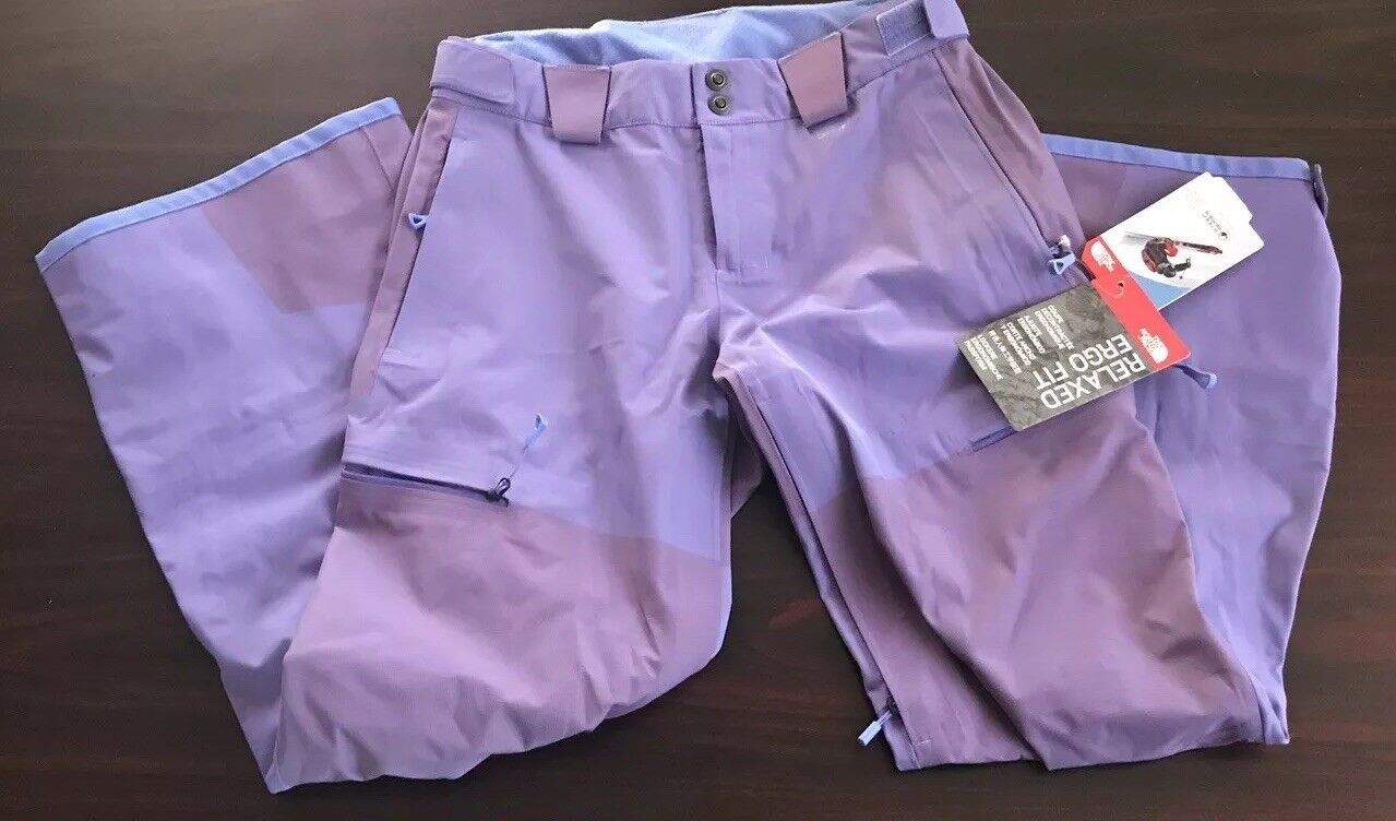 WOMENS NORTH FACE STEEP SERIES RELAXED ERGO FIT SKI PANTS SIZE S REG NWT 500