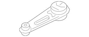 Genuine Nissan 11360-9SF0A de montagem na traseira