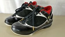 f204508096be0c AIR JORDAN 2009 HOF HALL OF FAME USED SIZE 7 BLACK VARSITY RED GOLD 371499  031