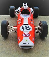 Lotus 1960s Vintage Race Sport Car GP F  Indy 500 Midget Carousel 1 18 Model 12