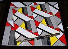 1969 ROY LICHTENSTEIN POP-ART ABSTRACT PRINT MODULAR PAINTING FOUR PANELS #5