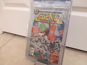 Legends-3-1987-DC-CGC-9-6-NM-White-1st-New-Suicide-Squide