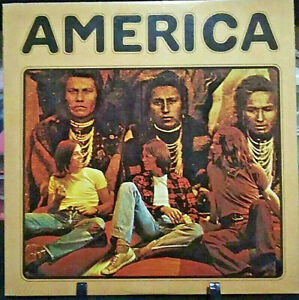 AMERICA Self-Titled Debut Album Released 1971 Vinyl Collection USA