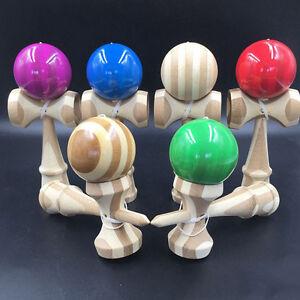 Jumbo-Kendama-japanisch-Traditionell-Spiel-Lehrreich-Geschickt-Hoelzern-Spielz-dm