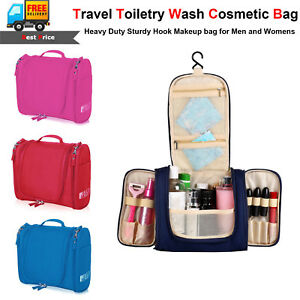 Image is loading Waterproof-Hanging-Toiletry-Bag-Travel-Cosmetic-Kit-Large- 9bdb7c1488099