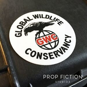 The-Expendables-Prop-GWC-Global-Wildlife-Conservancy-Case-Sticker-Set-Decal