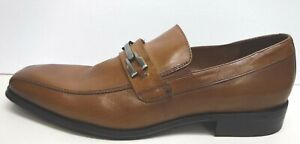 Steve-Madden-Size-7-5-Brown-Leather-Loafers-New-Mens-Shoes