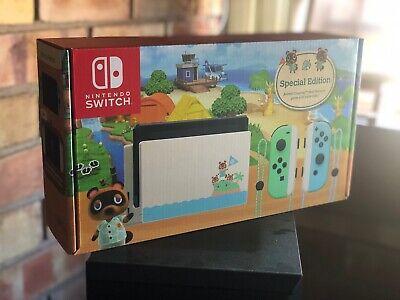 Nintendo Switch Console Animal Crossing: New Horizon ...
