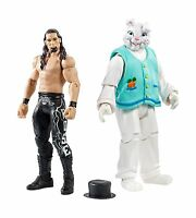 Wwe Figure 2-pack Adam Rose & Bunny Free Shipping