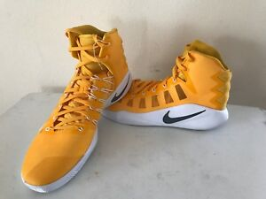 new product a7f55 6b484 Image is loading Nike-Men-039-s-Hyperdunk-2016-Yellow-White-
