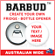 Custom-Magnetic-Bottle-Opener-BARBUD thumbnail 1