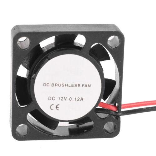 25mm x 25mm x 7mm DC 12V 2Pin 12000RPM Sleeve Bearing Mini Cooling Fan AD