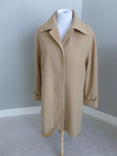 FLEURETTE for NORDSTROM Coat 100% CAMEL HAIR Bust