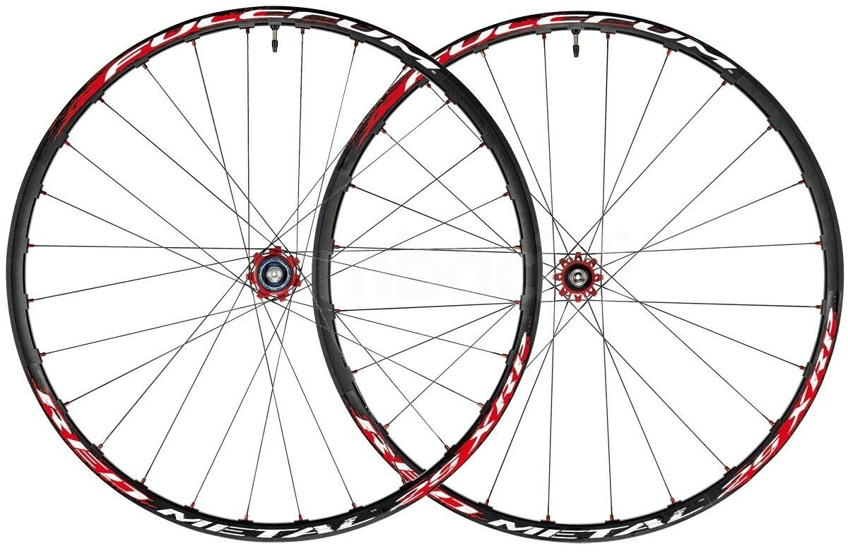 Roues Mtb 29  POINT D'APPUI RED METAL 29  XRP TUBELESS 6 Trous Standard black