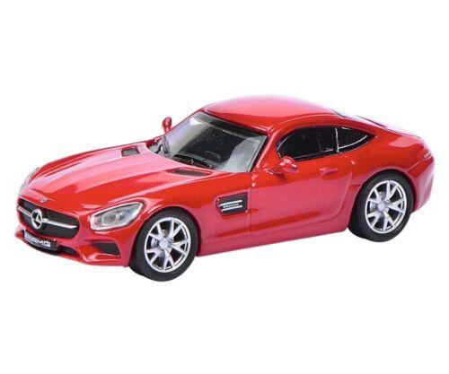Schuco 26204-1//87 Mercedes-Benz AMG GT S-rojo-nuevo
