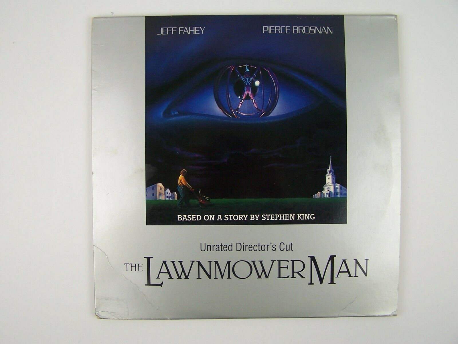 The Lawnmower Man Unrated Director's Cut LaserDisc LD (