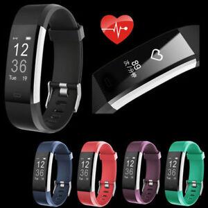 Smart Armband Uhr Watch Schrittzähler Pulsmesser Fitness Tracker Sport pulsuhr