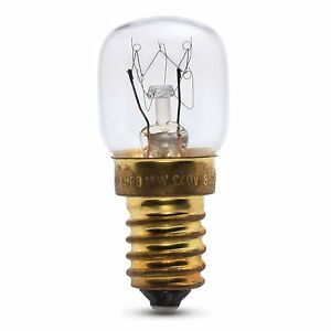 Baumatic 25W 300o Degree E14 SES Pygmy OVEN LAMP Light Bulb 240v Oven Parts & Accessories Large Appliances