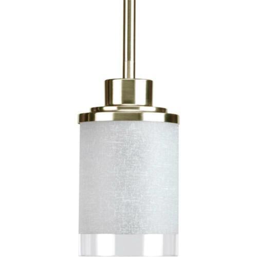 Progress Lighting Alexa Collection 4 in 1-Light Brushed Nickel Mini Pendant