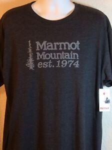 Marmot-XL-Melange-Coton-Polyester-Tee-Shirt