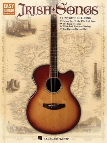 Irish Songs Sheet Music Easy Guitar Book NEW 000702273