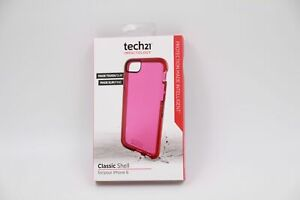 new product f326f 57693 Details about Genuine New Tech21 T21-4251 Classic Shell - To Suit iPhone  6/6S - Pink Color