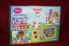 CLEMENTONI Smart kit 7 en 1 puzzle domino mémo quizzy cubes DISNEY princesses