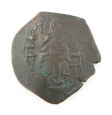 1143-1180 East Roman Byzantinisch Billon Aspron Trachy Axf Manuel I Comnenus S Auf Dem Internationalen Markt Hohes Ansehen GenießEn Byzantinische Münzen