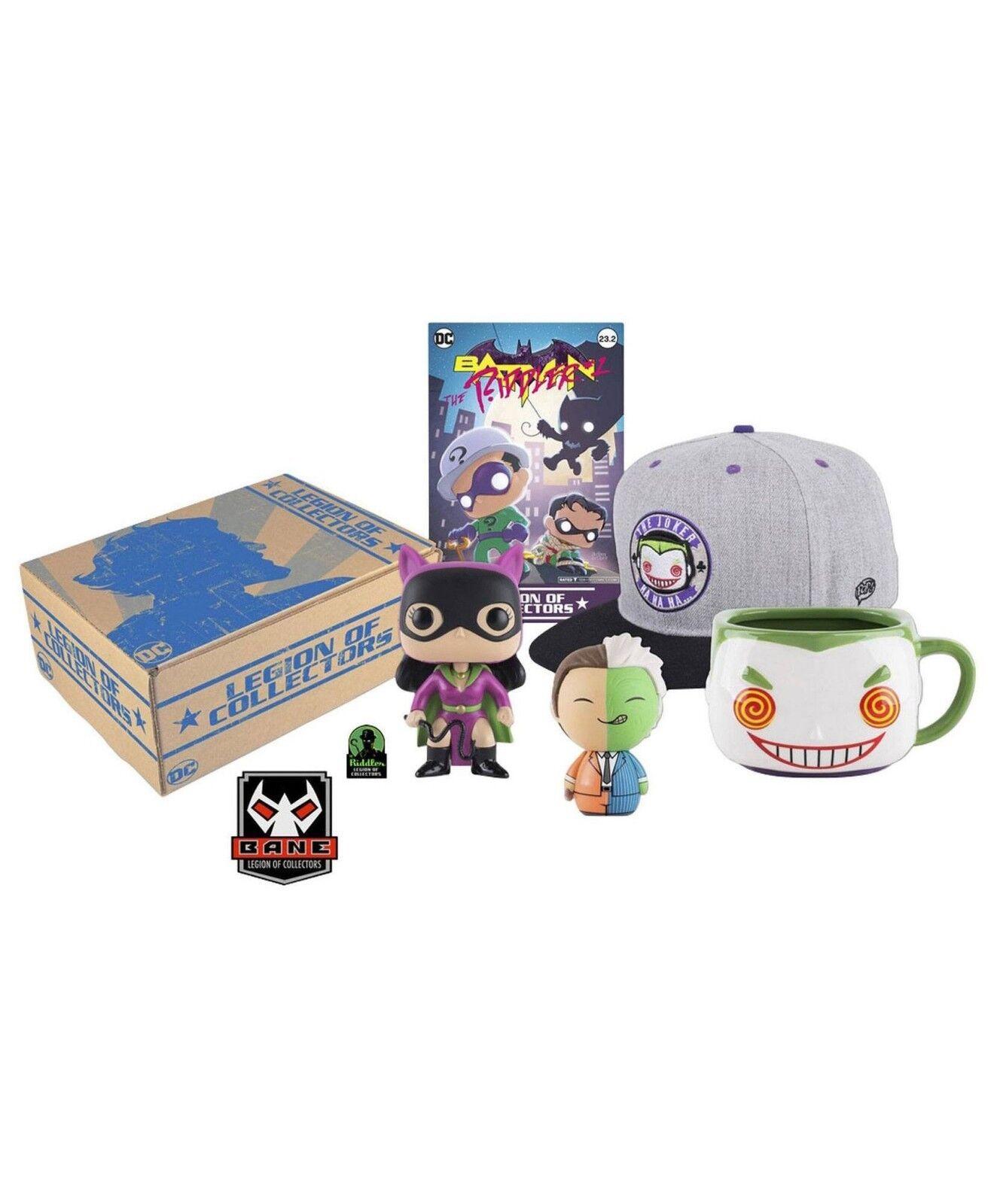 Funko - DC Legion of Collectors Box - Batman Villains Funko POP