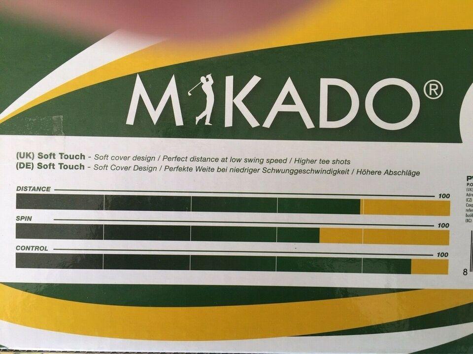 Golfbolde, Helt nye Mikado
