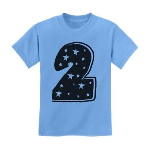Two-Years-Old-Cute-Birthday-Gift-Idea-I-039-m-2-Superstar-Kids-T-Shirt-Boy-Girl
